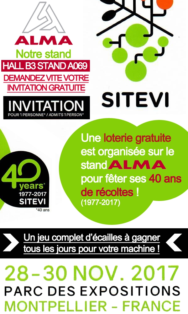 Actu SITEVI 2017 (©alma-france.com 2017)