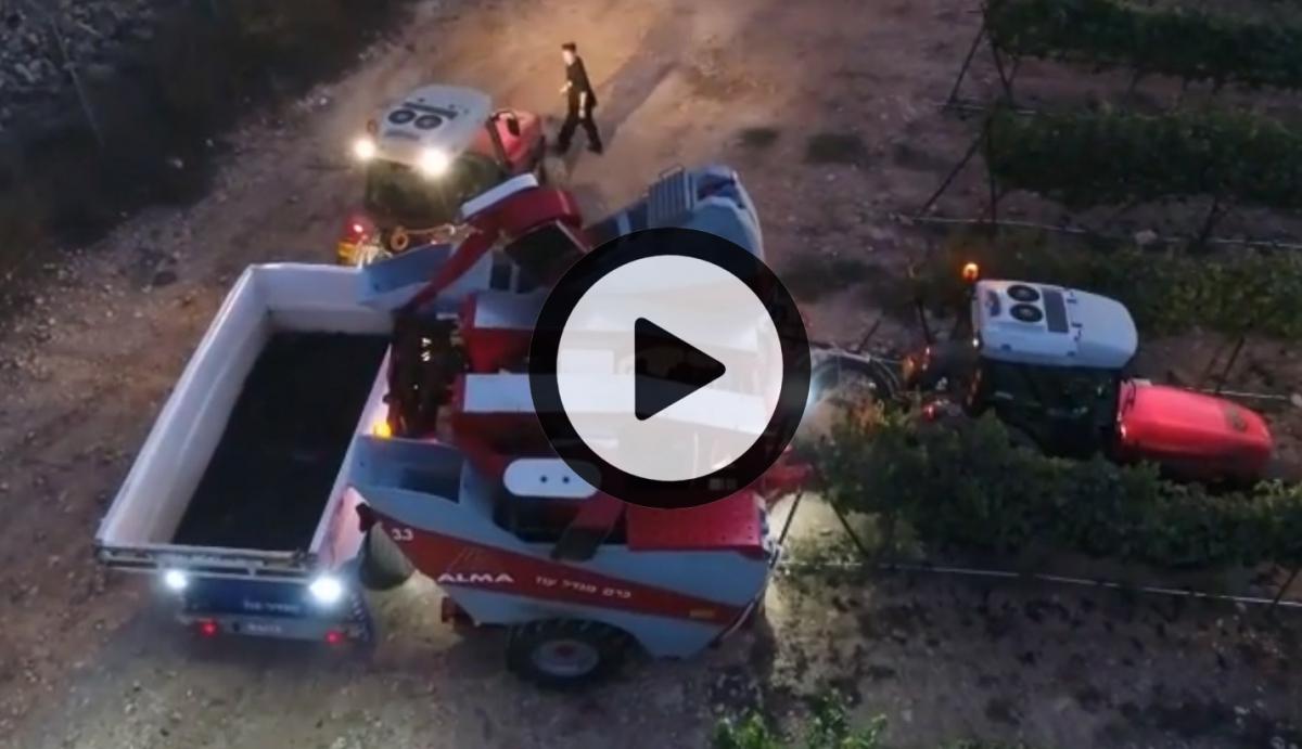 Actu vidéo drone Selecta 3 de nuit (©alma-france.com 2018)