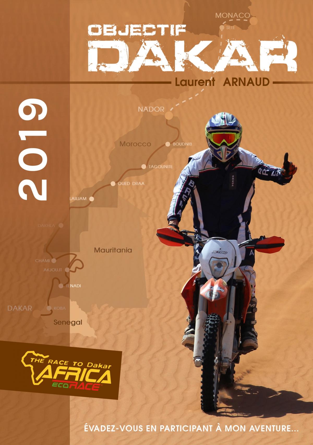 Affiche sponsoring Laurent Arnaud AER 2019 (©alma-france.com 2017)