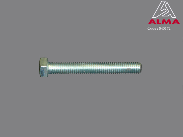 Zinc screw TH 8/60. Crédits : ©ALMA