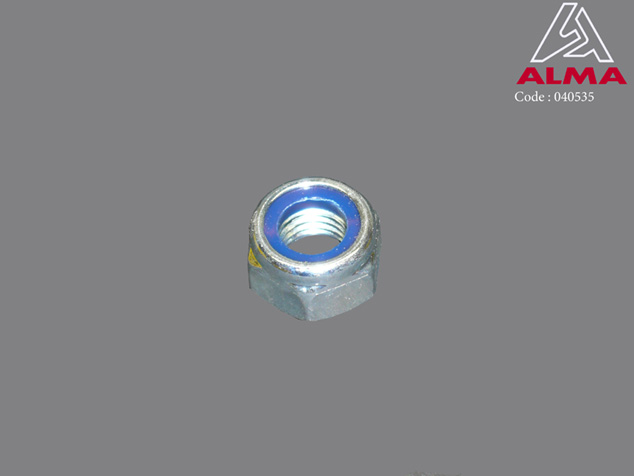 Zinc plated nylstop nuts M 14. Cr閐its : 〢LMA