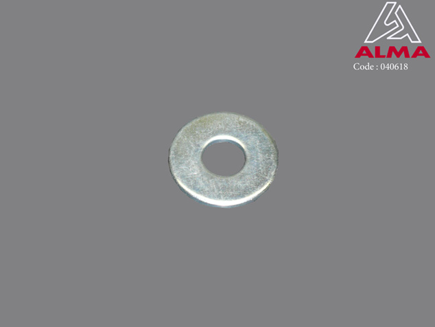 Zinc plated flat washer 8/22. Crédits : ©ALMA