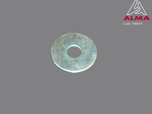 Zinc plated flat washer 8/30. Crédits : ©ALMA