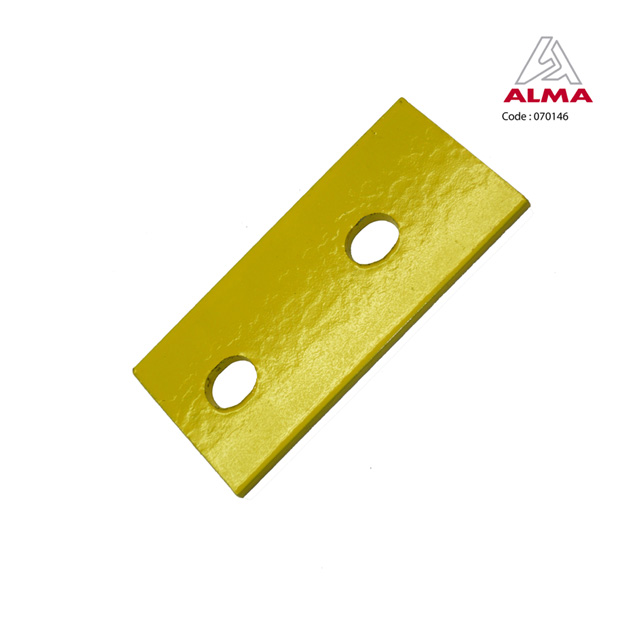 Stiffening backing plate. Crédits : ©ALMA