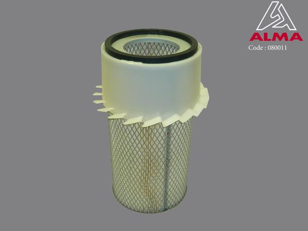 Elément filtrant air moteur thermique. Crédits : ©ALMA