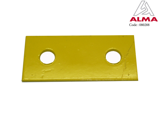 Thin stiffener backing plate. Crédits : ©ALMA
