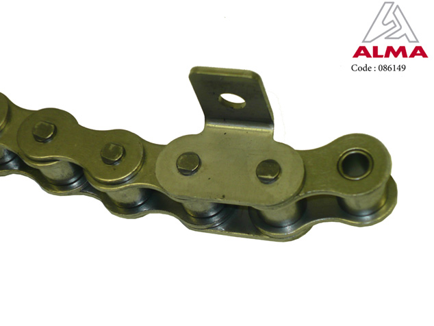 Stainless steel chain, 19.05 scraper, small conveyor. Cr閐its : 〢LMA