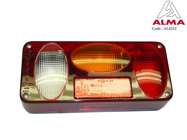 Right rear light. Cr閐its : 〢LMA
