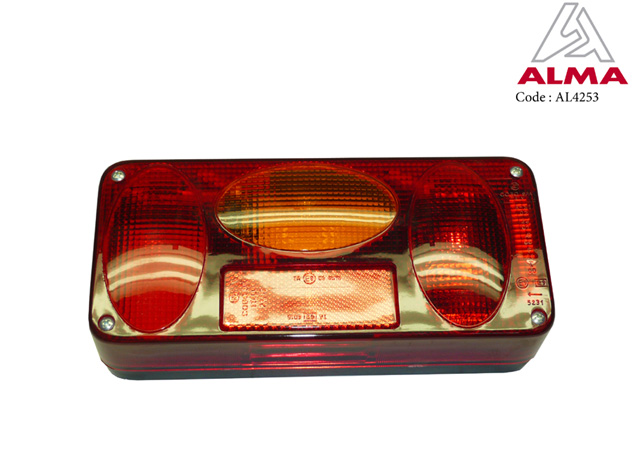 Left rear light. Cr閐its : 〢LMA