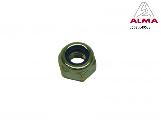 Zinc nylstop nut M 10. Cr閐its : 〢LMA