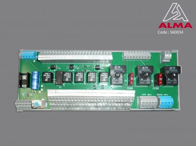 Printed circuit. Crédits : ©ALMA